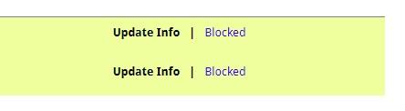 Blocked Renewal
